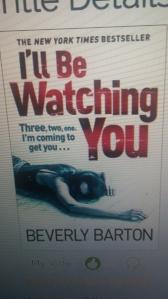 I'llBeWatchingYou-BeverlyBarton-Oct2014